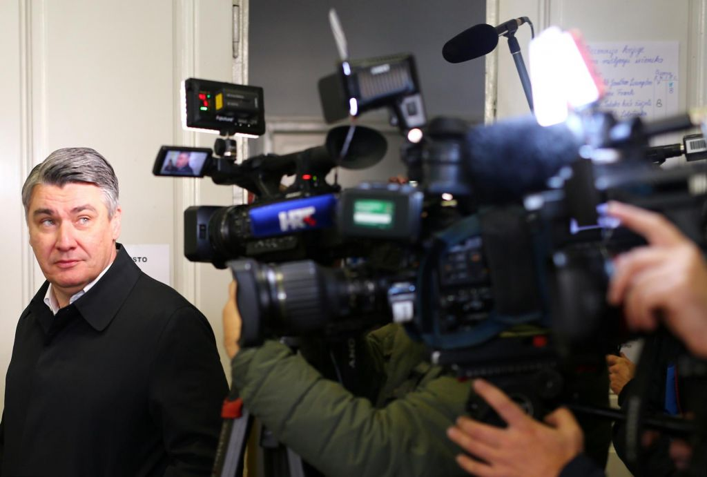 FOTO:Milanović je novi hrvaški predsednik