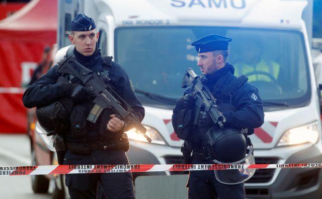 Policisti so napadalca ubili. FOTO: Charles Platia/Reuters