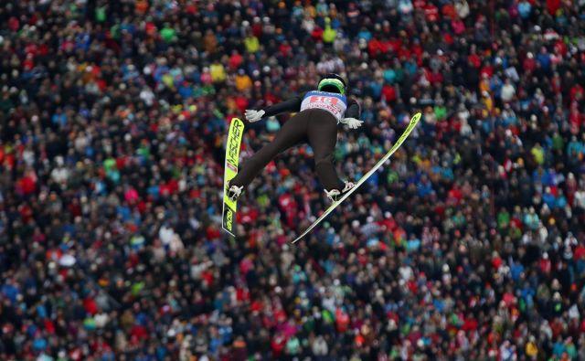 Peter Prevc se je uvrstil med najboljšh deset. FOTO: Lisi Niesner/Reuters