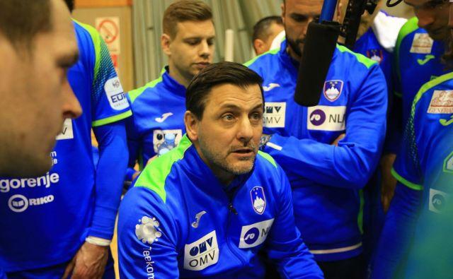 Ljubomir Vranješ je določil 18 igralcev za EP. FOTO: Tomi Lombar