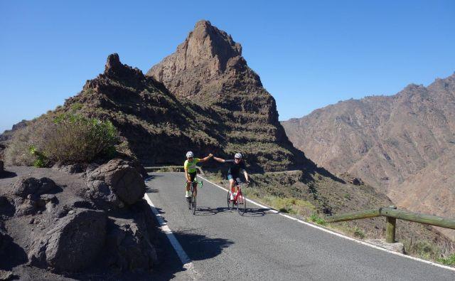 Gran Canaria je postala zimska kolesarska destinacija številka ena na svetu. Foto: Marko Škorjak