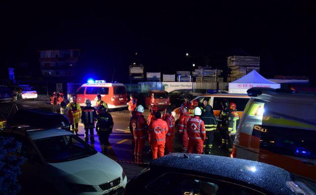 FOTO: Vigili Del Fuoco Lutago/Reuters