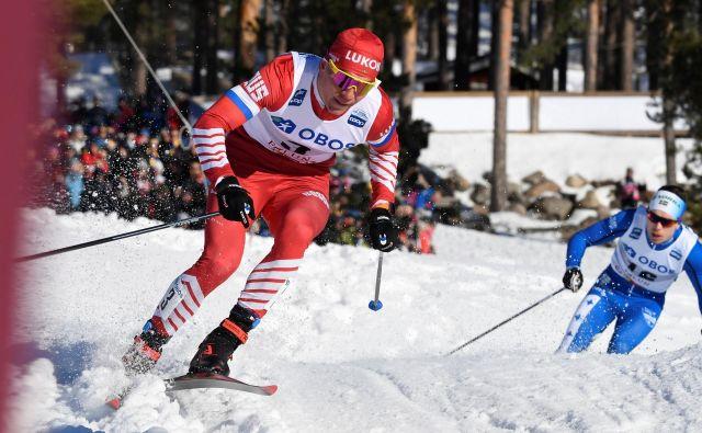 Rus Aleksander Bolšunov je bil najboljši na novoletni turneji smučarskih tekačev. FOTO: Reuters