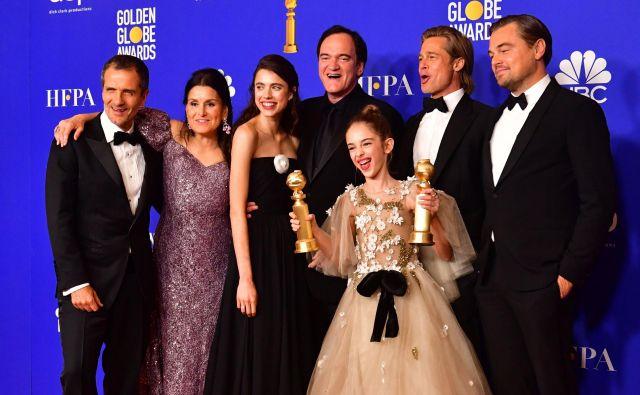 <em>Bilo je nekoč ... v Hollywoodu</em> je bil razglašen za najboljši celovečerni film v kategoriji muzikalov ali komedij. FOTO:Frederic J. Brown/AFP