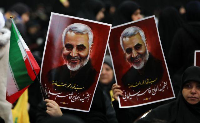 Po ameriškem umoru Kasima Sulejmanija je jasno, da sodelovanje med glavnima zunanjima igralcem v Iraku nikakor ne bo več mogoče. FOTO: Anwar Amro/AFP