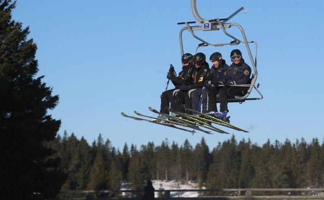 Sodelovanje hrvaških in slovenskih policistov se je začelo leta 2011. FOTO: Tadej Regent/Delo