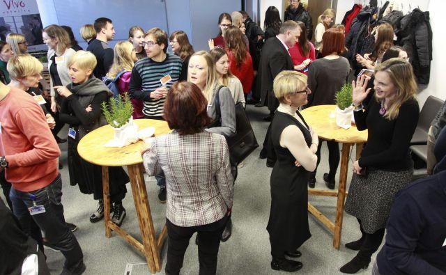 Kariernega zajtrka se je v petih letih udeležilo skoraj 300 strokovnjakov, od katerih se jih je 21 v Novartisu v Sloveniji tudi zaposlilo. Foto Roman Šipić