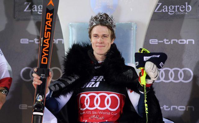 Clement Noël je nase opozoril v minuli zimi s tremi zmagami, po upokojitvi Marcela Hirscherja pa ima dobre možnosti, da postane novi zvezdnik prihodnosti. FOTO: AFP