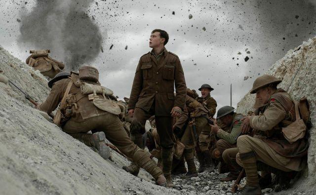 Vojna drama <em>1917</em> v režiji Sama Mendesa je bila nagrajena s tremi zlatimi kipci. Foto Universal Pictures