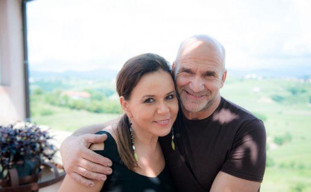 Vesna in Aleš Kristančič Foto osebni arhiv