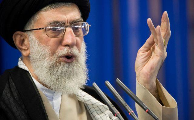 Ajatola Ali Hamenej, vrhovni voditelj islamske republike. FOTO: Reuters
