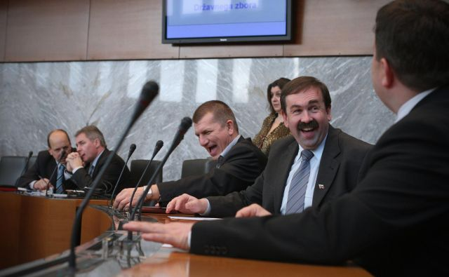 Nekdanji poslanec SDS Lah je najprej prestopil v NSi, nato pa se po dveh letih poslovil tudi od te stranke. FOTO: Jure Eržen/Delo