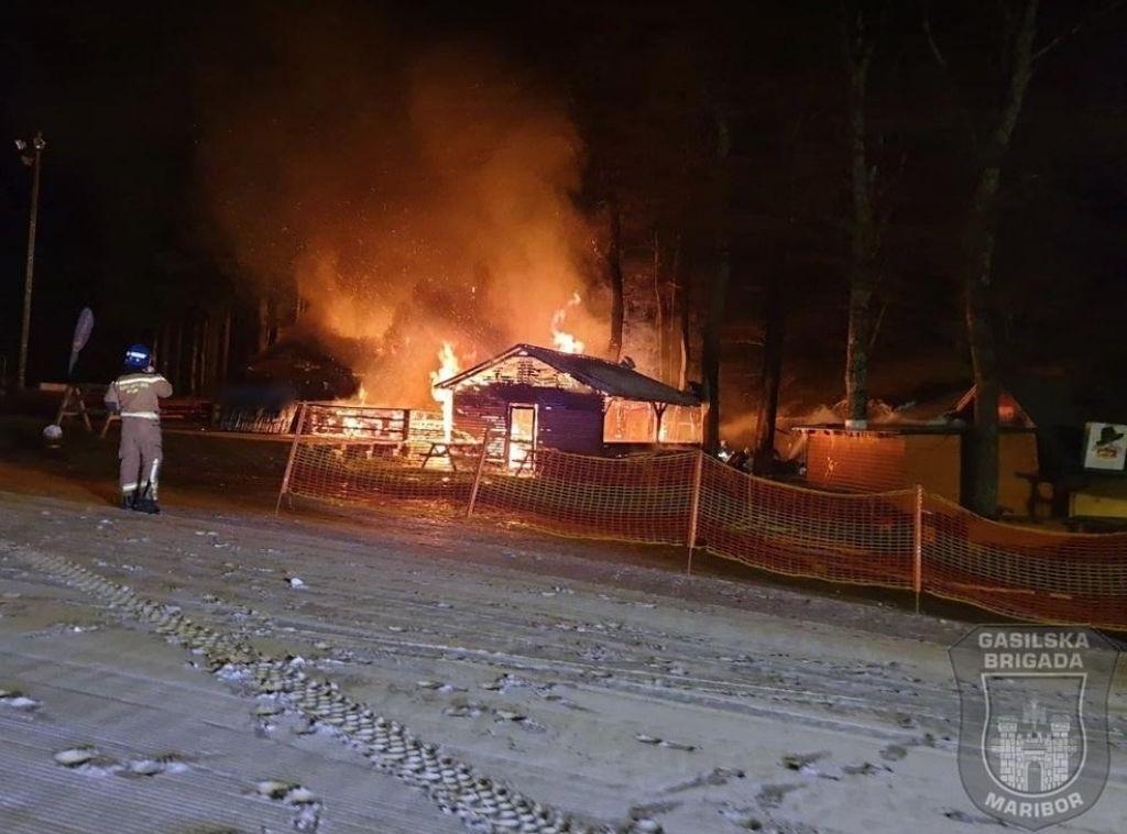 Mariborski policisti prijeli krivce za sobotni požar na Pohorju