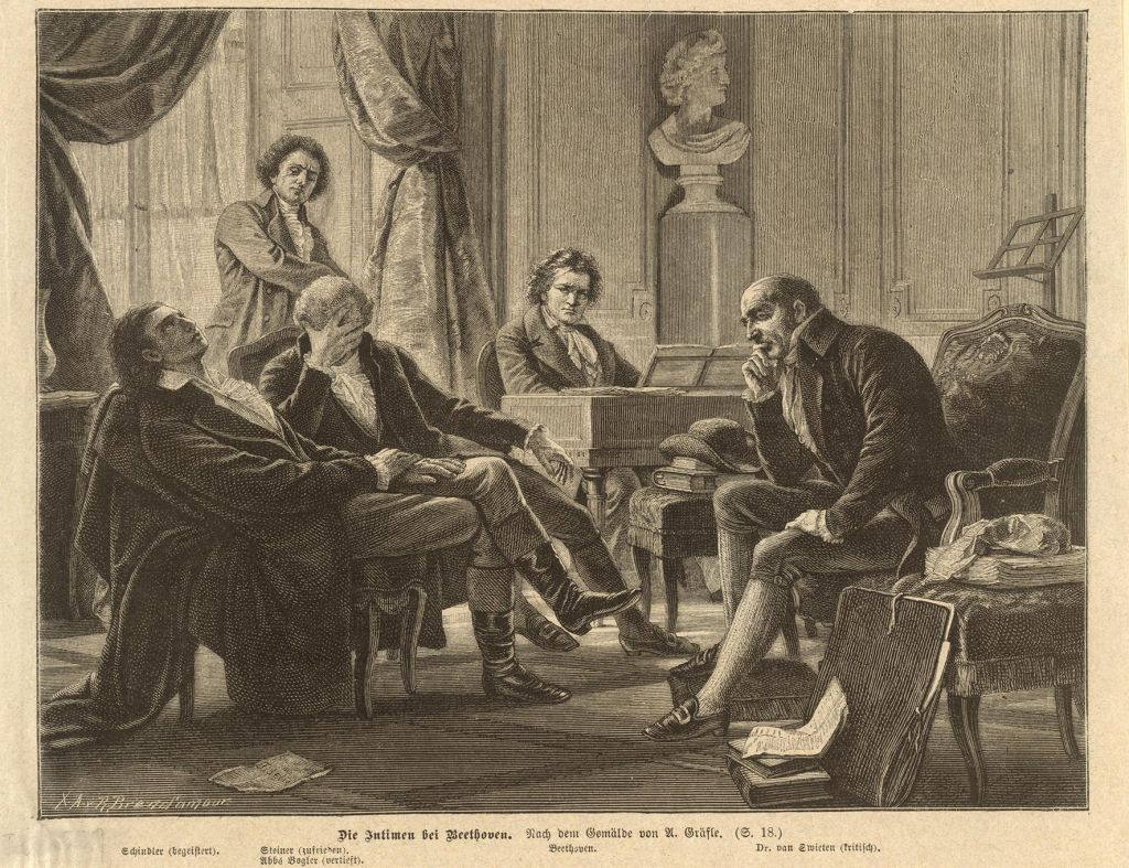 FOTO:Ludwig van Beethoven osvaja Dunaj in Ljubljano