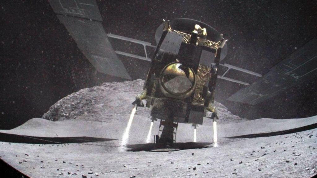 FOTO:Japonska sonda, ki opravlja eno najzahtevnejših nalog