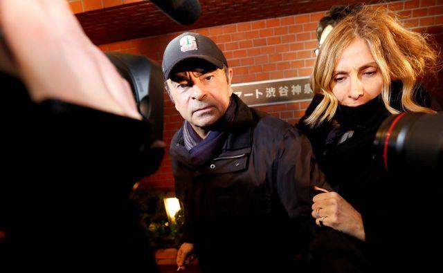 Podrobnosti Ghosnovega pobega še vedno niso jasne. FOTO: Issei Kato/Reuters