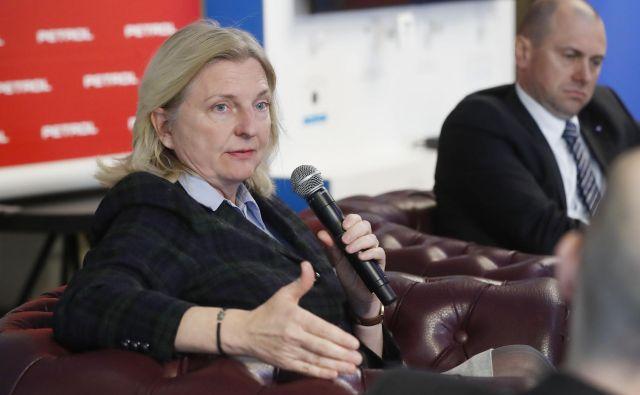 Karin Kneissl: Kitajski predsednik Xi Jinping je bil v Srbiji tri dni. Kdaj je bil kakšen evropski voditelj tam več kot dve uri?Foto Leon Vidic/Delo