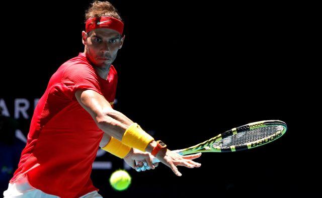 Rafael Nadal je s Španijo favorit pokala ATP. FOTO: Reuters