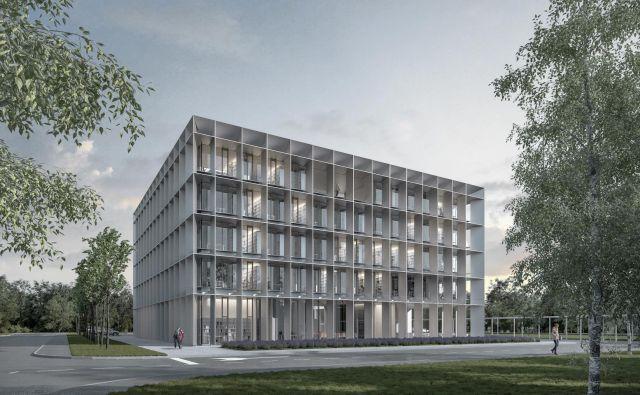 O novi poslovni stavbi na Griču so v Darsu razmišljali že pred 13 leti, a zaradi neurejenega zemljiškoknjižnega stanja te ideje niso mogli uresničiti. Računalniški prikaz: Studio Abiro