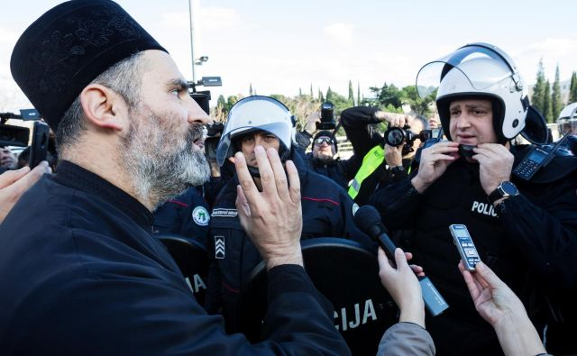 Protesti v Črni gori trajajo že dva tedna. Foto: Reuters