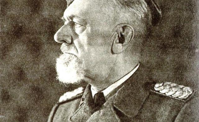 Hecni mož je bil prezident pokrajinske uprave general<strong> Leon Rupnik</strong>. FOTO: Wikipedija
