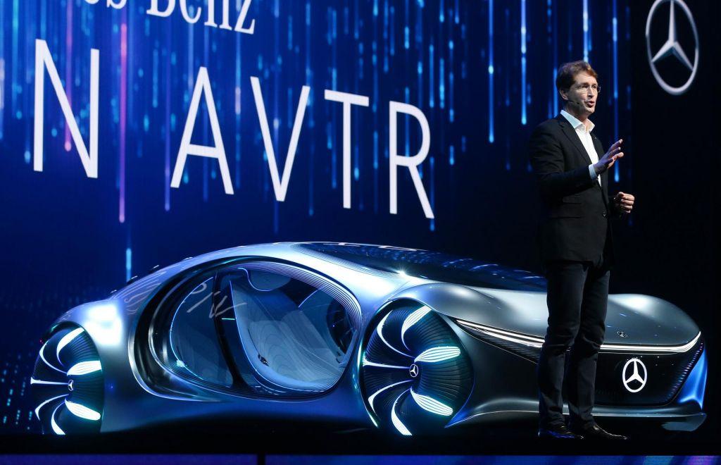 FOTO:Mercedesova vizija prihodnosti