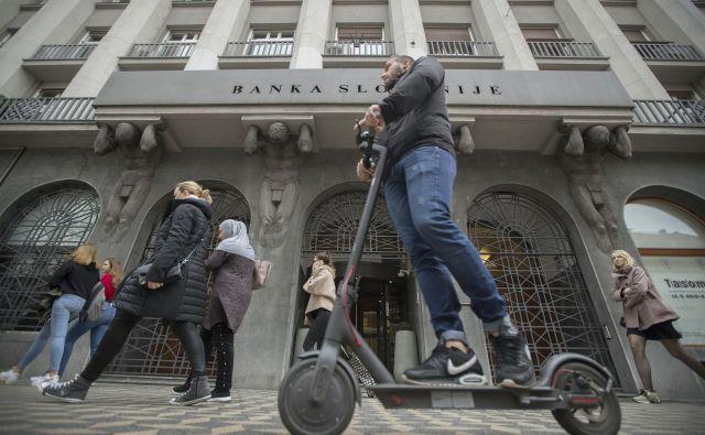 Za slovenske banke bo leto 2019 očitno zelo dobičkonosno, izhaja iz številk Banke Slovenije. FOTO: Leon Vidic/Delo