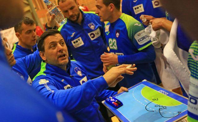 Ljubomir Vranješ je v kratkem času v reprezentanco vnesel nekaj svojih zamisli, ki naj bi bile pisane na kožo slovenskim rokometašem. FOTO: Tomi Lombar
