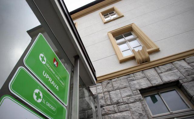 O tem, kaj se bo uprava Lekarne Ljubljana odločila glede usode dobičkonosne družbe LL Grosist bomo sproti obveščeni, so zatrdili. Foto: Blaž Samec