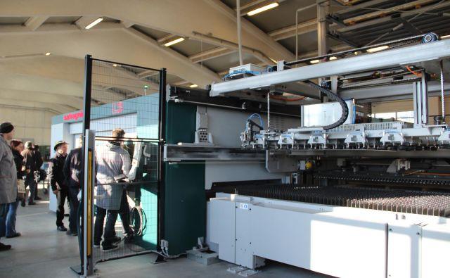 CNC naprava, ki jo bodo v Vratih Deržič kmalu izpopolnili. Foto Simona Fajfar
