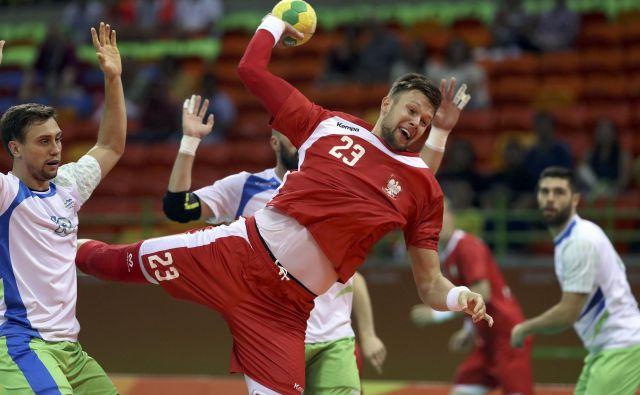 Kamil Syprzak je igral za Poljsko, ki je v Riu 2016 izgubila proti Sloveniji, a prišla do 4. mesta. FOTO: Reuters