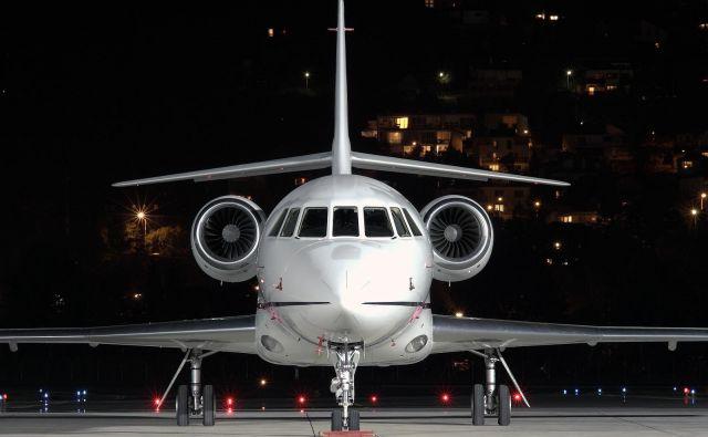 Državno letalo Falcon. FOTO: Jovanovic Daniel/Aiirliners.net