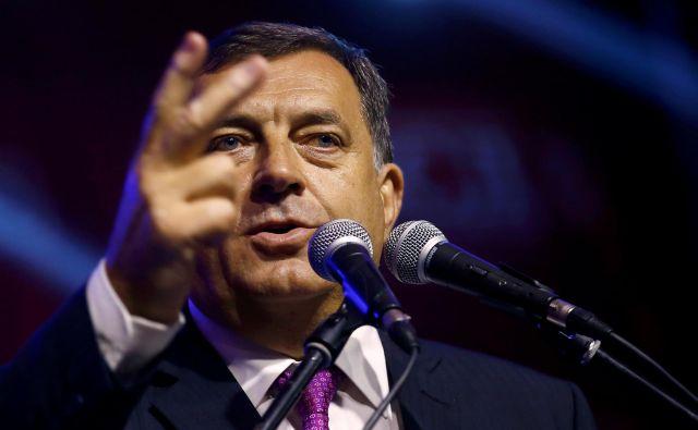 Republika srbska po daytonskem sporazumu nima pravice do odcepitve, s katero grozi Milorad Dodik. FOTO: Dado Ruvić/Reuters