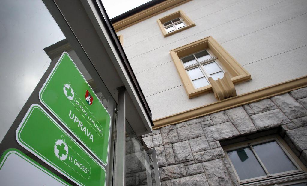 Udarec za Lekarno Ljubljana