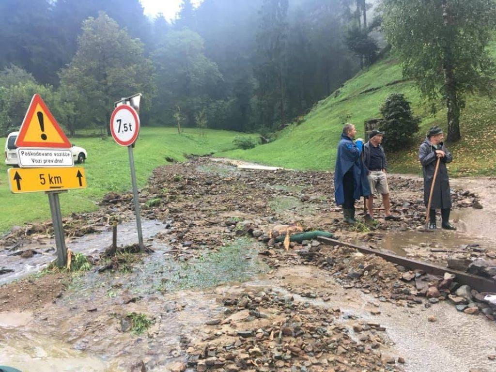 Poletna neurja povzročila za 25 milijonov evrov škode