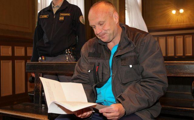 Casiraghi je poudaril, da je »žrtev slovenskega pravosodnega sistema, ki je diskriminatoren in ne spoštuje človekovih pravic«. FOTO: Marko Feist/Slovenske novice
