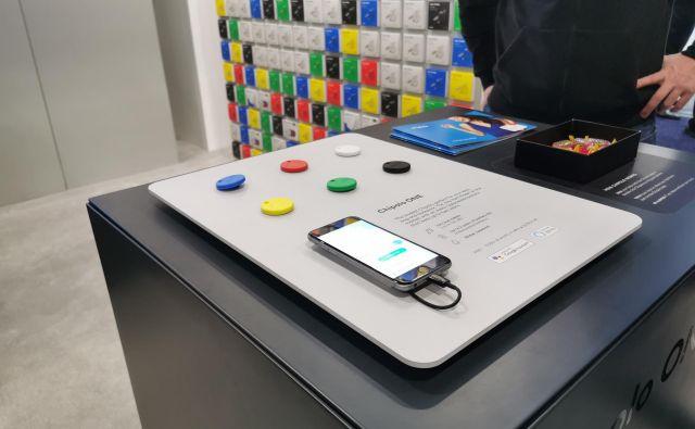 Predstavili so prenovljen pametni iskalnik predmetov. Foto Lucijan Zalokar