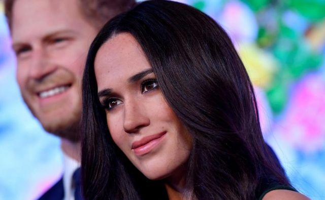 Harry in Meghan sta še v muzeju Madame Tussauds, a ne več na prostoru, rezerviranem za kraljevo družino. FOTO: Reuters