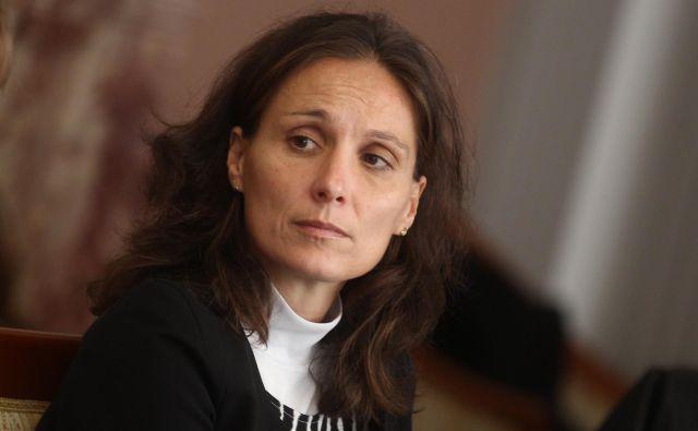 »Spletna stran omogoča tudi preglede desetletne zgodovine porabe po vsebinah,« pravi državna sekretarka na ministrstvu za finance Saša Jazbec. FOTO: Aleš Beno/Finance