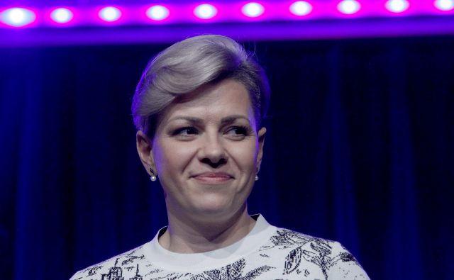 Aida Kamiš�alić Latifić bo leto dni novačila zlasti mlada dekleta za inženirske poklice. FOTO Mavric Pivk/Delo