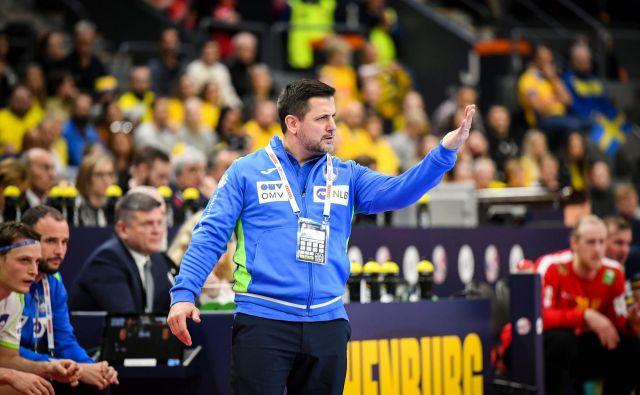 Ljubomir Vranješ je imel mešane občutke, s Slovenijo je premagal švedske rojake. FOTO: kolektiff