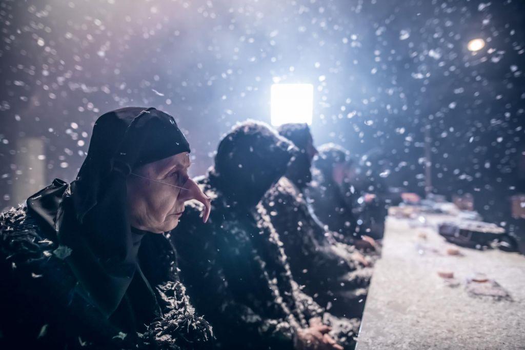 FOTO:Večurna gledališka pustolovščina Tomija Janežiča
