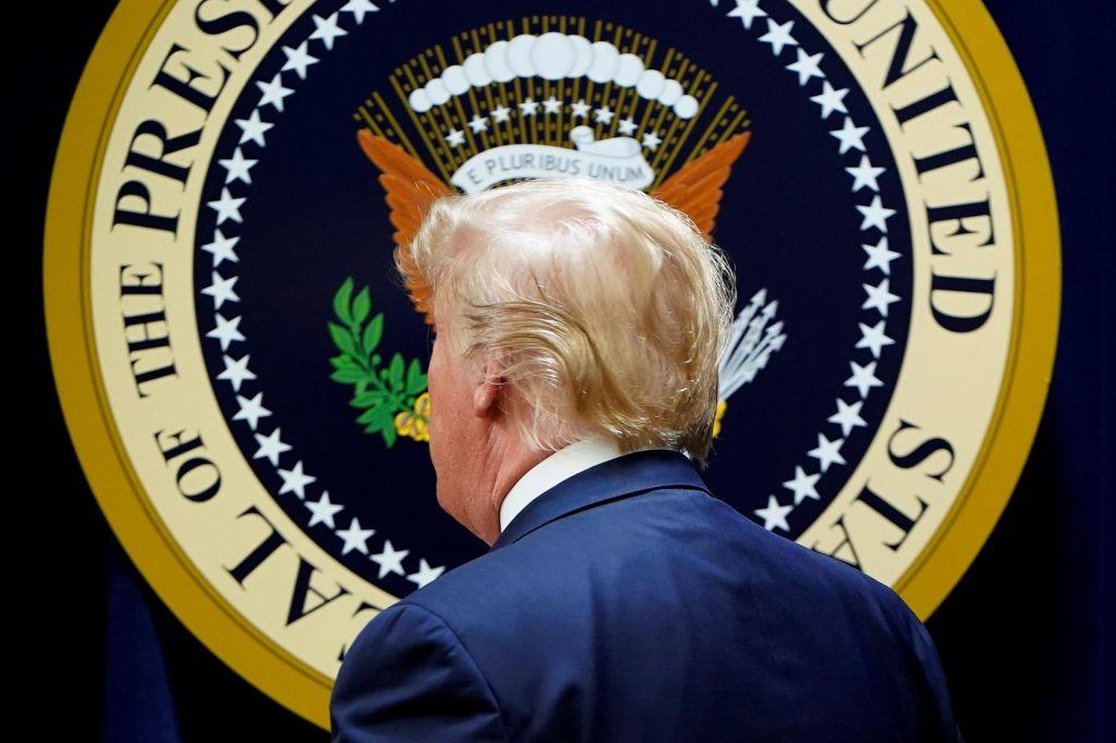 FOTO:S kakšno popotnico Donald Trump vstopa v volilno leto