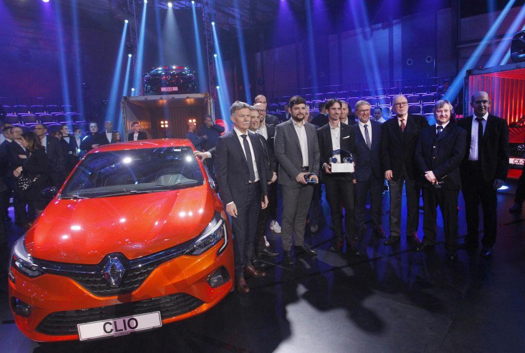 FOTO:Renault clio slovenski avtomobil leta 2020