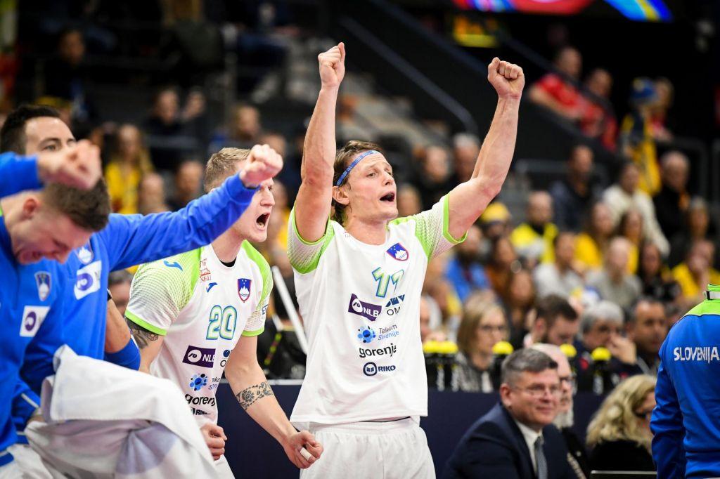 FOTO:Slovenija gre naprej, padla je še Švedska!
