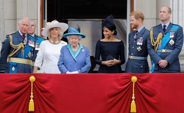 Kako složna je v resnici kraljeva družina? FOTO: Tolga Akmen/AFP