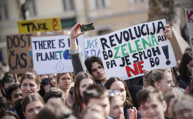 Edina posledica podnebnih protestov mladih je bila ustanovitev komisije za prestrukturiranje premogovnih regij. FOTO: Uroš Hočevar
