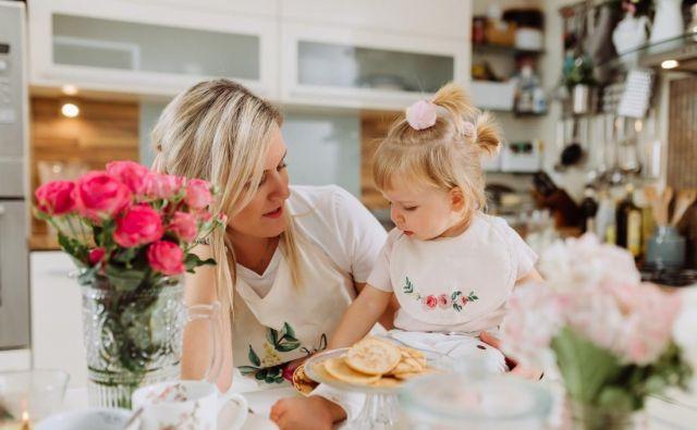 Vitin blog, ki je nastal v času njene porodniške in uvajanja goste hrane, je prava zakladnica idej za mamice. Foto Osebni Arhiv