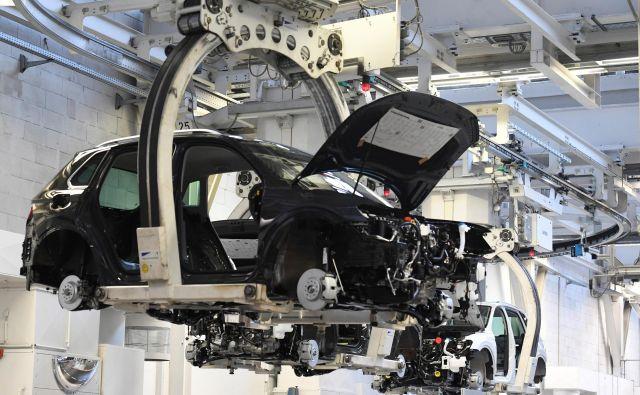 Lani so Nemci na novo registrirali pet odstotkov več avtomobilov kot leta 2018. Foto Reuters