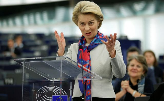 Predsednica evropske komisije predsednice Ursula von der Leyen. Foto: Vincent Kessler/Reuters